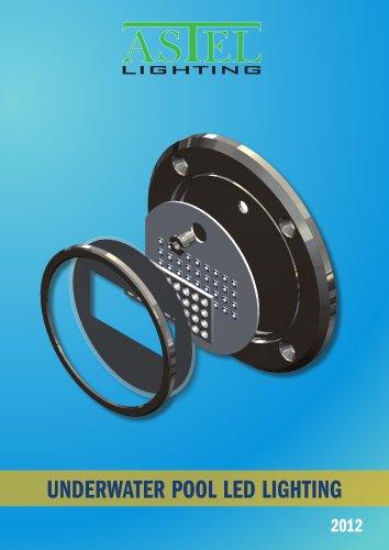 Underwater pool LED lighting - METEOR