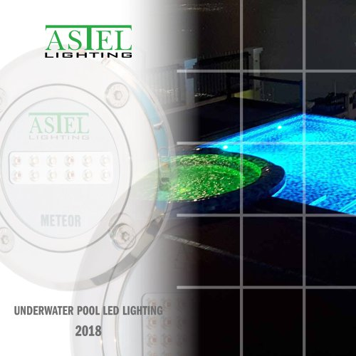Underwater pool LED lights 2018