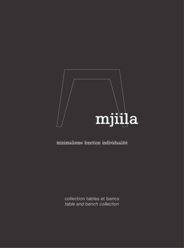 mjiila - collection tables et bancs