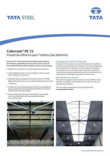 Colorcoat® PE 15