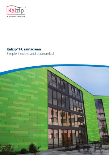 Kalzip® FC rainscreen