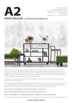 PRESS RELEASE STOCKHOLM DESIGN WEEK 2016