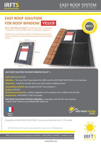 EASY ROOF WINDOW SOLUTION VELUX