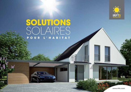 SOLUTIONS SOLAIRES POUR L'HABITAT