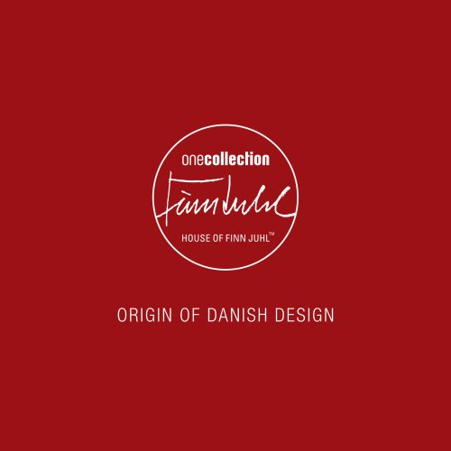 ORIGIN OF DANISH DESIGN
