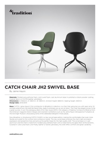 CATCH CHAIR JH2