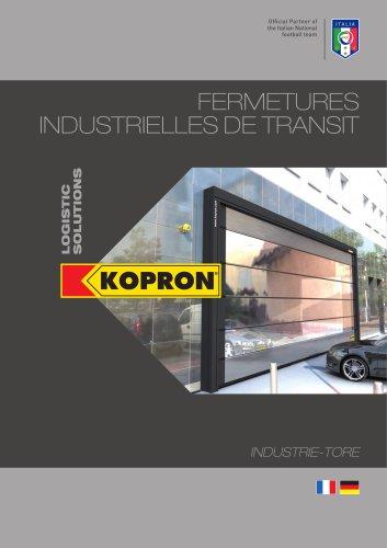 Kopron Fermetures Industrielles de Transit
