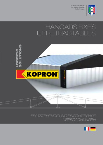 Kopron Hangars Fixes et Retractables