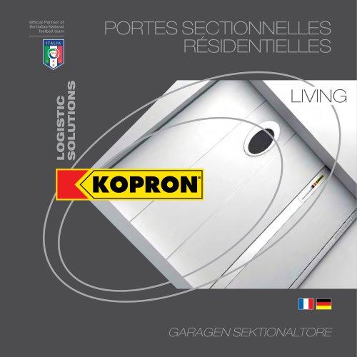 Kopron Portes Sectionnelles résidentielles