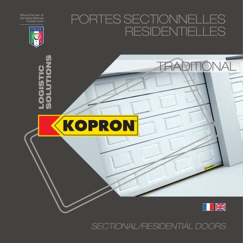 Portes sectionnelles residentielles - Traditional