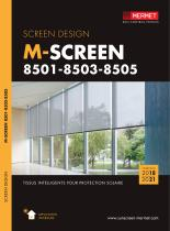 M-SCREEN 8501- 8503 - 8505