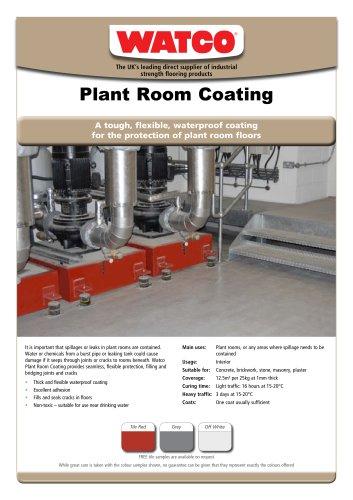 Plant Room Coating