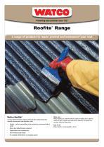 Roofite ® Range