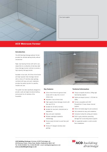 Wetroom Former