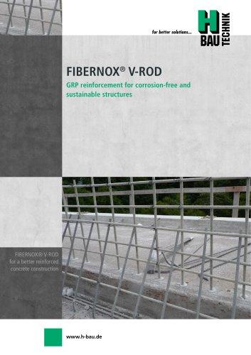 FIBERNOX® V-ROD GRP REINFORCEMENT