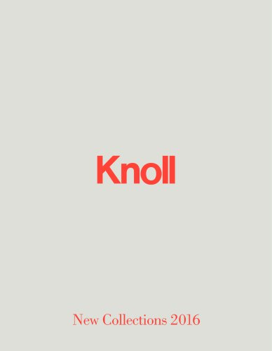 KnollStudio News September 2016