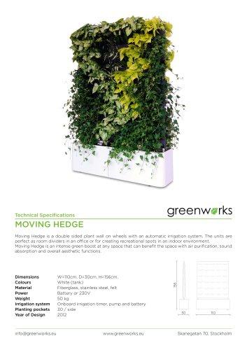 Moving Hedge data-sheet