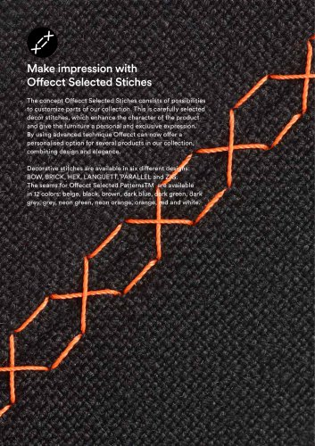 Offecct Selected Stiches