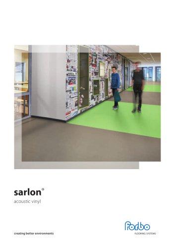 SARLON ACOUSTIC VINYL BROCHURE