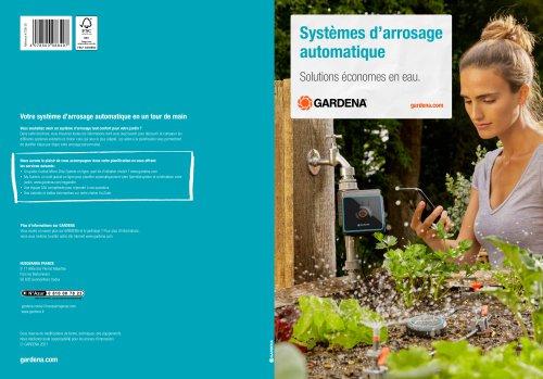 Systèmes d'arrosage automatique Solutions économes en eau.