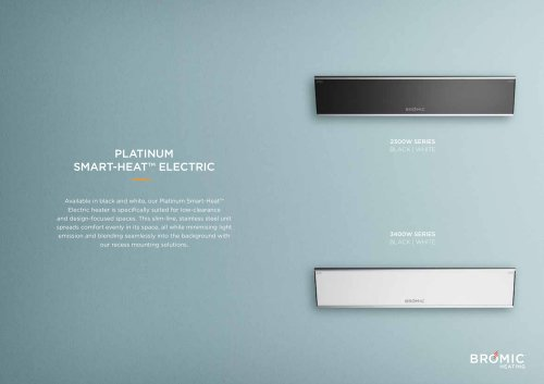 PLATINUM SMART-HEAT™ ELECTRIC