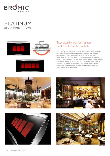 PLATINUM SMART-HEAT™ GAS
