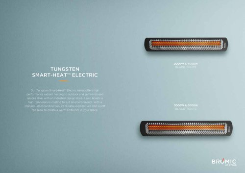 TUNGSTEN SMART-HEAT™ ELECTRIC