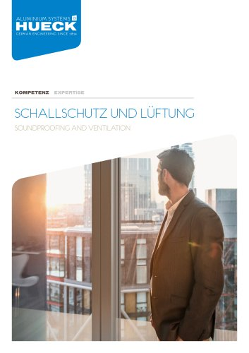 HUECK Expertise - Soundproofing and Ventilation