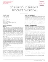 Corian® Product Overview