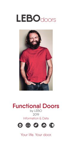 Functional Doors by LEBO 2019 Information & Data