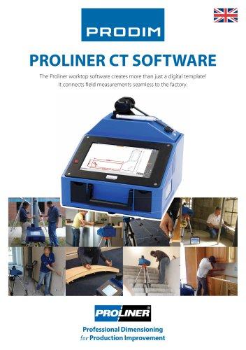 PROLINER CT SOFTWARE