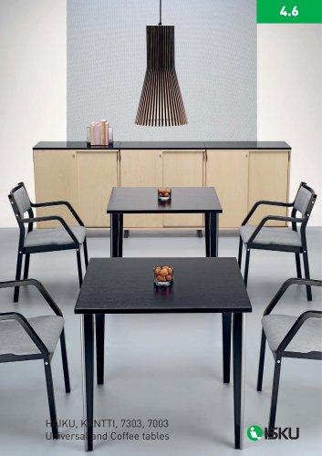 HAIKU, KANTTI, 7303, 7003 Universal and Coffee tables