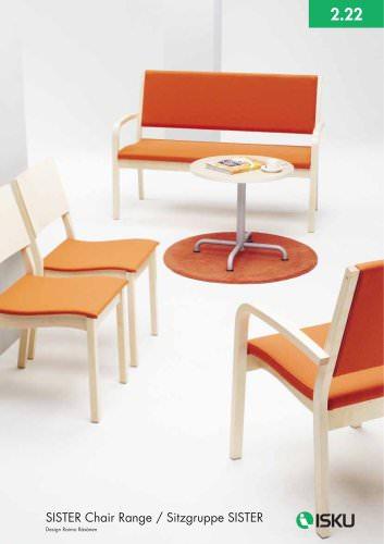 SISTER chair range