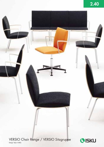 VERSIO chair range