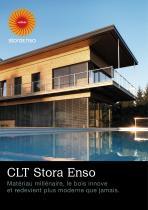 CLT Stora Enso Matériau millénaire, le bois innove et redevient plus moderne que jamais.