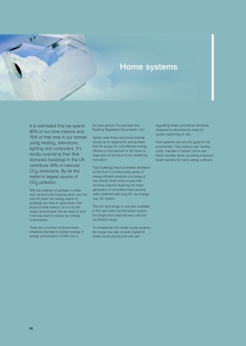 Xpelair Home systems