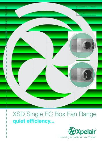 XSD single EC box fan range