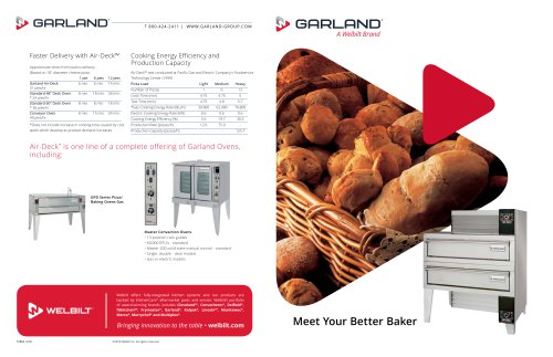 Air-Deck™ Oven