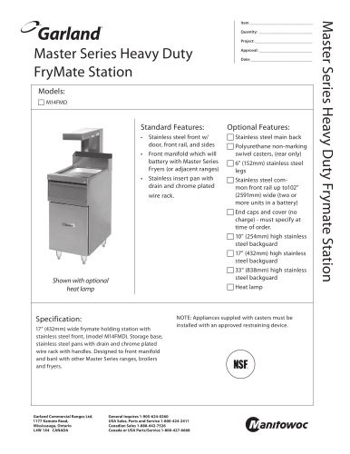 FryMate Station