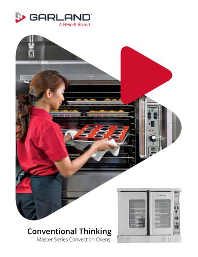 Master Series Convection Ovens.