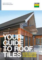 YOUR GUIDE TO ROOF TILES