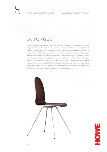 LA TONGUE Arne Jacobsen
